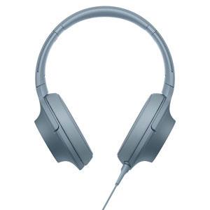MDR-H600A L ソニー マイク&コントローラー搭載ハイレゾ対応ヘッドホン(ムーンリットブルー) SONY hear on 2