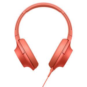 MDR-H600A R ソニー マイク&コントローラー搭載ハイレゾ対応ヘッドホン(トワイライトレッド) SONY hear on 2