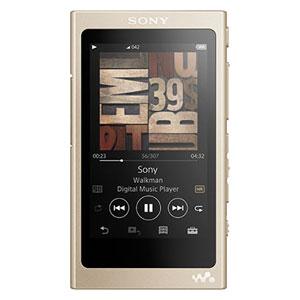 NW-A45 N ソニー ウォークマン A40シリーズ 16GB ヘッドホン非同梱モデル(ペールゴールド) SONY Walkman [NWA45NM]【返品種別A】【送料無料】