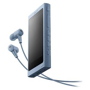 NW-A45HN L ソニー ウォークマン A40シリーズ 16GB ハイレゾ対応デジタルノイズキャンセリングヘッドホン同梱モデル(ムーンリットブルー) SONY Walkman [NWA45HNLM]【返品種別A】
