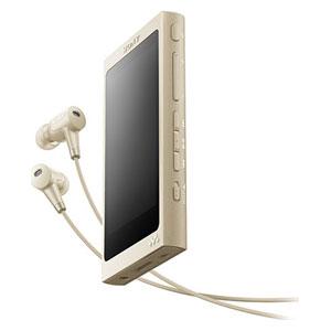 NW-A46HN N ソニー ウォークマン A40シリーズ 32GB ハイレゾ対応デジタルノイズキャンセリングヘッドホン同梱モデル(ペールゴールド) SONY Walkman [NWA46HNNM]【返品種別A】
