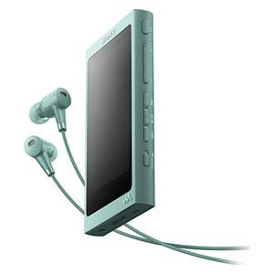 NW-A46HN G ソニー ウォークマン A40シリーズ 32GB ハイレゾ対応デジタルノイズキャンセリングヘッドホン同梱モデル(ホライズングリーン) SONY Walkman [NWA46HNGM]【返品種別A】【送料無料】