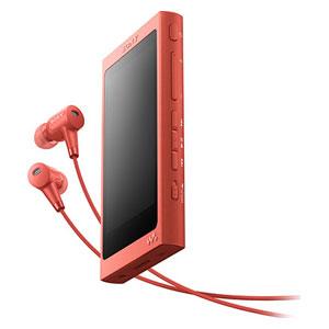 NW-A46HN R ソニー ウォークマン A40シリーズ 32GB ハイレゾ対応デジタルノイズキャンセリングヘッドホン同梱モデル(トワイライトレッド) SONY Walkman [NWA46HNRM]【返品種別A】【送料無料】
