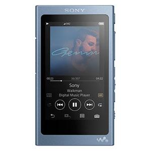 NW-A47 L ソニー ウォークマン A40シリーズ 64GB ヘッドホン非同梱モデル(ムーンリットブルー) SONY Walkman [NWA47LM]【返品種別A】【送料無料】