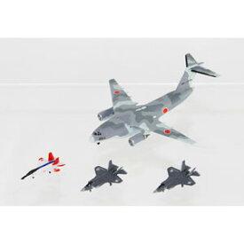 1/700 自衛隊航空機セット1 (X-2、F-35A、F-35B×各4機、C-2×2機入り)【S45】 ピットロード