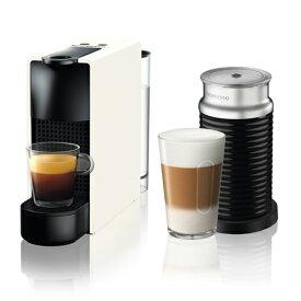C30WH-A3B ネスプレッソ ネスプレッソコーヒーメーカー バンドルセット ピュアホワイト Nespresso エッセンサミニ [C30WHA3B]