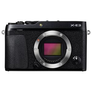 F X-E3B 富士フイルム ミラーレス一眼カメラ「FUJIFILM X-E3」ボディ(ブラック)
