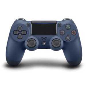 【PS4】ワイヤレスコントローラー(DUALSHOCK 4)ミッドナイト・ブルー ソニー・インタラクティブエンタテインメント [CUH-ZCT2J22 PS4デュアルショックミッドナイトブルー]