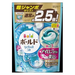 ボールド ジェルボール3D 爽やかプレミアムクリーンの香り つめかえ用 超ジャンボ 44個 P&GJapan ボールドGB3DサワヤカPクカエ44