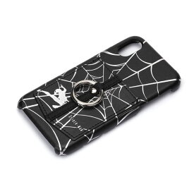 PG-DCS310SPM PGA iPhone XS/X用 ハードケース ポケットリング付き スパイダーマン 【MARVELCorner】