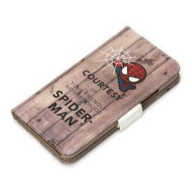 PG-DFP314SPM PGA iPhone XS/X用 フリップカバー スパイダーマン (ブラウン) 【MARVELCorner】