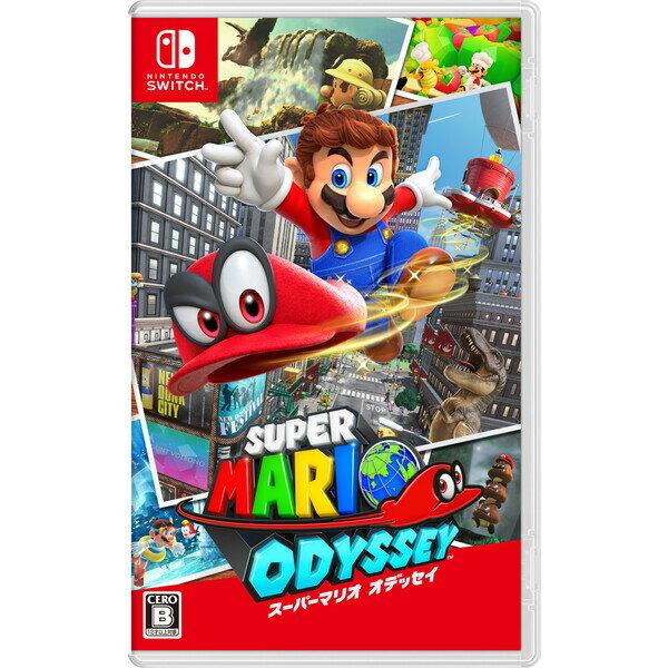 【Nintendo Switch】スーパーマリオ オデッセイ 任天堂 [HAC-P-AAACA NSWスーパーマリオ オデッセイ]【返品種別B】