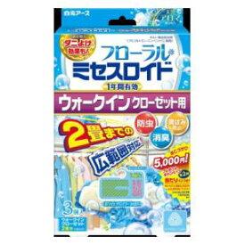 フローラルミセスロイド ウォークインクローゼット用 3個入 1年 ホワイトアロマソープの香り 白元アース ミセスウオ-クインク3コ1ネンソ-プ
