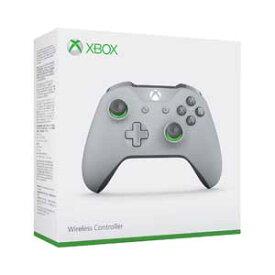 【Xbox One】Xbox ワイヤレスコントローラー(グレー/グリーン) マイクロソフト [WL3-00062 XboxコントローラーGG]