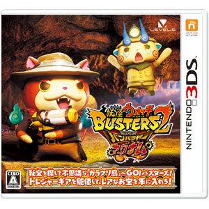 【封入特典付】【3DS】妖怪ウォッチバスターズ2 秘宝伝説バンバラヤー マグナム レベルファイブ [CTR-P-BYMJ 3DSヨウカイバスターズ]【返品種別B】