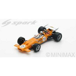 1/43 McLaren M14A No.11 2nd Spanish GP 1970 【S4843】 スパーク [スパーク S4843 マクラーレン M14A スパニッシュGP 1970]【返品種別B】