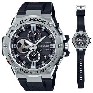 GST-B100-1AJF カシオ G-SHOCK G-STEEL Bluetooth Gショック メンズタイプ [GSTB1001AJF]【返品種別A】