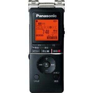 RR-XS470-K パナソニック リニアPCM対応ICレコーダー8GBメモリ内蔵+外部マイクロSDスロット搭載(ブラック) Panasonic [RRXS470K]【返品種別A】