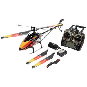 【再生産】2.4GHz 4ch ヘリコプター ブラック/オレンジ【WLV913】 WLtoys [WLV913 4ch ヘリコプター ブラックオレンジ]【返品種別B】