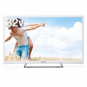 TH-32ES500-W【税込】 パナソニック 32V型地上・BS・110度CSデジタルハイビジョンLED液晶テレビ(ホワイト) (別売USB HDD録画対応)VIERA [TH32ES500W]【返品種別A】