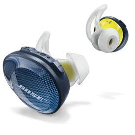 SSPORT FREE BLU ボーズ 完全ワイヤレス Bluetoothイヤホン(ミッドナイトブルー/イエローシトロン) Bose SoundSport Free wireless headphones