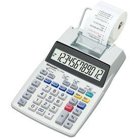 EL-1750V シャープ プリンタ電卓 12桁 SHARP セミデスクトップタイプ
