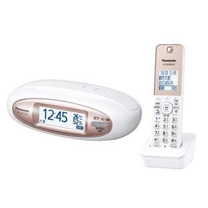 【エントリーでP5倍 8/20 9:59迄】VE-GZX11DL-W パナソニック デジタルコードレス電話機 子機1台付き(パールホワイト)
