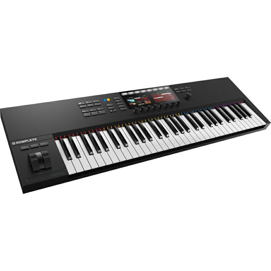KKS61MK2 ネイティブインストゥルメンツ 61鍵MIDIキーボード・コントローラ Native Instruments KOMPLETE KONTROL S61 MK2 [KKS61MK2]【返品種別A】