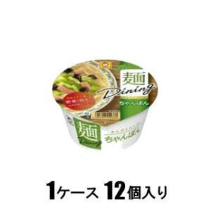 マルちゃん 麺ダイニング ちゃんぽん 86g(1ケース12個入)  東洋水産 メンダイニングチヤンポン86*12