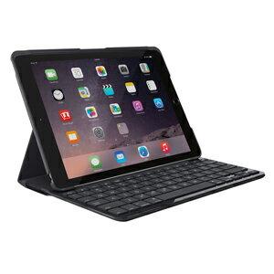 IK1052BK ロジクール iPad 第5世代(2017年モデル)用 SLIM FOLIO Bluetoothキーボード一体型ケース Logicool SLIM FOLIO iK1052 Case with integrated Bluetooth keyboard [IK1052BK]【返品種別A】