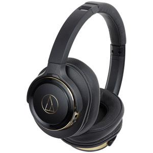 ATH-WS660BT BGD オーディオテクニカ Bluetooth対応ワイヤレスヘッドホン(ブラックゴールド) audio-technica
