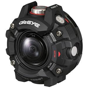 GZE-1BK カシオ アクションカメラ「G'z EYE(ジーズアイ)1」 [GZE1BK]【返品種別A】