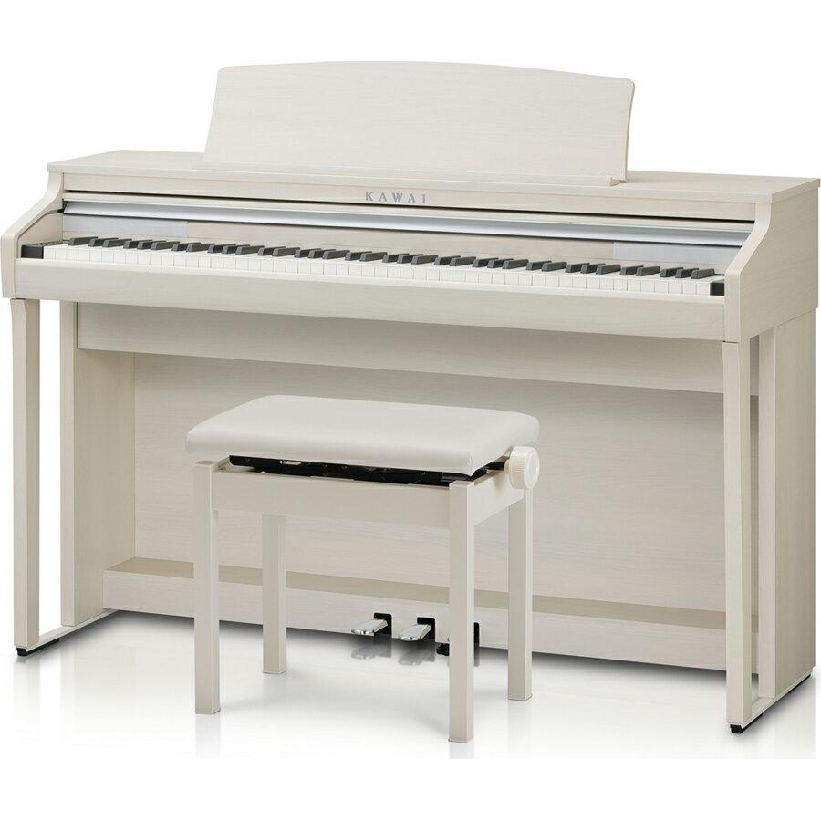 CA48A カワイ 電子ピアノ(プレミアムホワイトメープル調)【高低自在椅子&ヘッドホン付き】 KAWAI Concert Artist SERIES