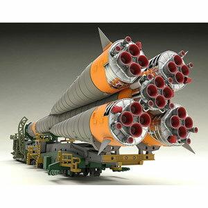1/150 プラスチックモデル ソユーズロケット+搬送列車 グッドスマイルカンパニー [1/150PM ソユーズロケットハンソウ]【返品種別B】