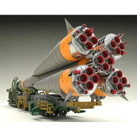 【再生産】1/150 プラスチックモデル ソユーズロケット+搬送列車 グッドスマイルカンパニー