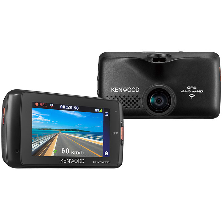 DRV-W630【税込】 ケンウッド ディスプレイ搭載 無線LAN対応ドライブレコーダー KENWOOD [DRVW630]【返品種別A】