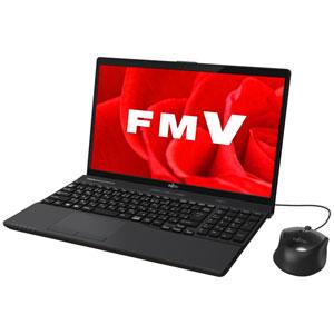 FMVA45B3B 富士通 15.6型ノートパソコン FMV LIFEBOOK AH45/B3 ブライトブラック [FMVA45B3B]【返品種別A】