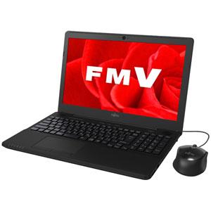 FMVA42B3B 富士通 15.6型ノートパソコン FMV LIFEBOOK AH42/B3 シャイニーブラック [FMVA42B3B]【返品種別A】