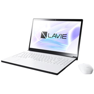 PC-NX750JAW NEC 15.6型 ノートパソコン LAVIE Note NEXT NX750/JAシリーズグレイスホワイト (Office Home&Business Premium プラス Office 365) [PCNX750JAW]【返品種別A】