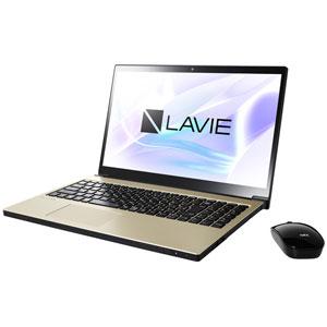PC-NX550JAG NEC 15.6型 ノートパソコン LAVIE Note NEXT NX550/JAシリーズグレイスゴールド (Office Home&Business Premium プラス Office 365) [PCNX550JAG]【返品種別A】