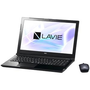 PC-NS700JAB NEC 15.6型 ノートパソコン LAVIE Note Standard NS700/JAシリーズスターリーブラック (Office Home&Business Premium プラス Office 365) [PCNS700JAB]【返品種別A】