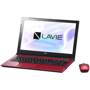 PC-NS700JAR NEC 15.6型 ノートパソコン LAVIE Note Standard NS700/JAシリーズルミナスレッド (Office Home&Business Premium プラス Office 365) [PCNS700JAR]【返品種別A】