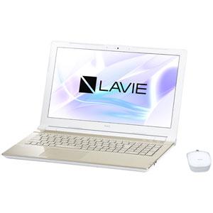 PC-NS700JAG NEC 15.6型 ノートパソコン LAVIE Note Standard NS700/JAシリーズシャンパンゴールド (Office Home&Business Premium プラス Office 365) [PCNS700JAG]【返品種別A】