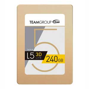 T253TD240G3C101 Team Team 3D NAND SSD L5 LITE 3Dシリーズ 240GB [T253TD240G3C101]【返品種別A】