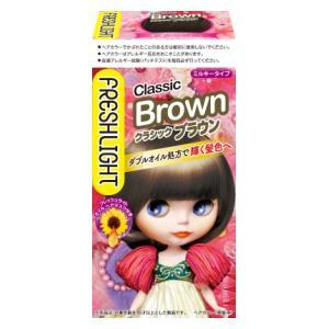 フレッシュライト ミルキーヘアカラー クラシックブラウン ヘンケルジャパン FLミルキ-クラシツクブラウン