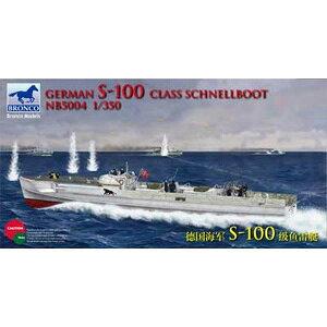 1/350 独・S-100級シュネルボート高速魚雷艇 2隻入り【CB5004】 プラモデル ブロンコ