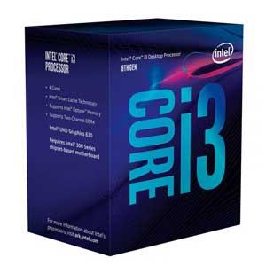 BX80684I38100 インテル Intel CPU Core i3 8100(Coffee Lake) [BX80684I38100]【返品種別B】