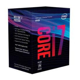 BX80684I78700 インテル Intel CPU Core i7 8700(Coffee Lake)