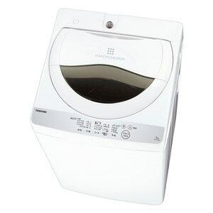 AW-5G6-W 東芝 5.0kg 全自動洗濯機 グランホワイト TOSHIBA [AW5G6W]【返品種別A】(標準設置料込)