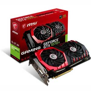 GEFORCEGTX1070TIGA8G MSI PCI-Express 3.0 x16対応 グラフィックスボードMSI GeForce GTX 1070 Ti GAMING 8G